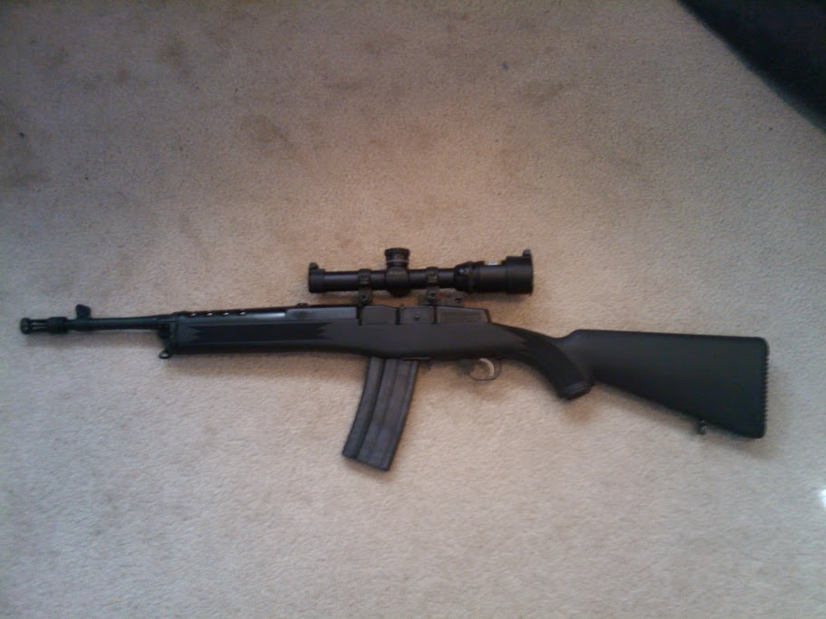what scope rings for mini 14 the firing line forums