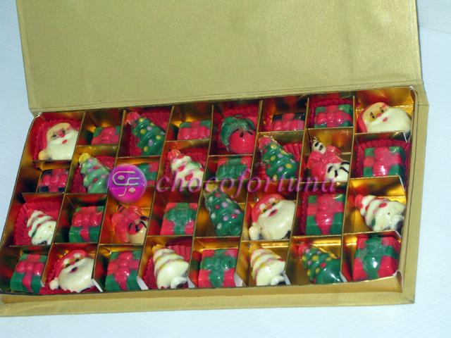 Coklat Natal Sekat 24 Book