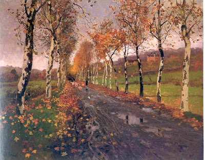 Frits Thaulow - The Road