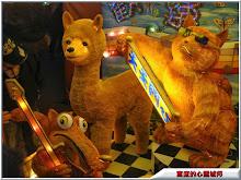 新竹監獄牙籤動物造型花燈
