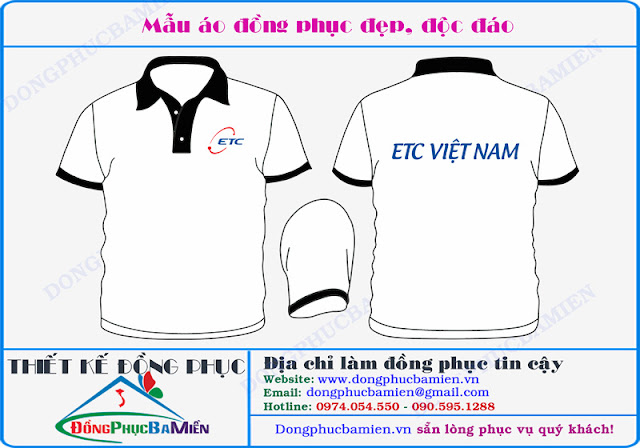 Dong phuc cong ty ETC Viet Nam