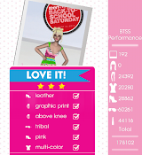 Teen Vogue Me Girl Level 41 - BTSS Performance - Reagan - Love It! Three Stars
