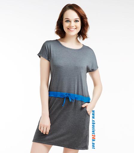 Váy đầm thời trang Sophie Geralia Blue