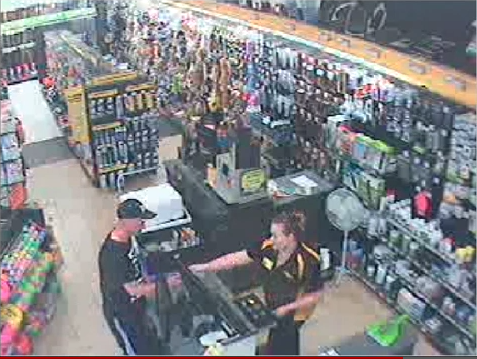 petbarn robbery screenshot