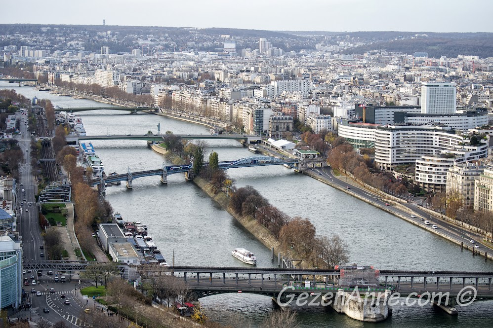 Seine nehri manzarası, Paris