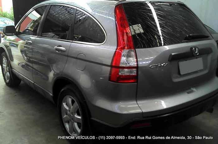 Honda CRV 2008 usada LX 4X2 Automática - Perfil traseiro