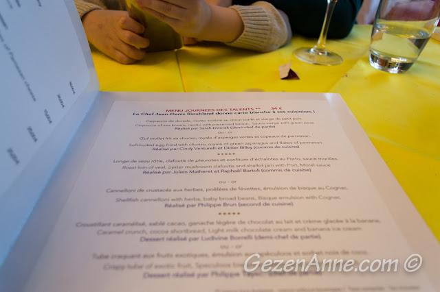 La Rotonde Brasserie'de öğle menüsü, Le Negresco Nice