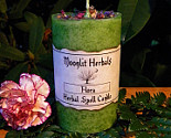 Flora Herbal Spell Candle Honoring Flora The Goddess Of Flowers And Spring Fertility Rites Faerie Magick Image