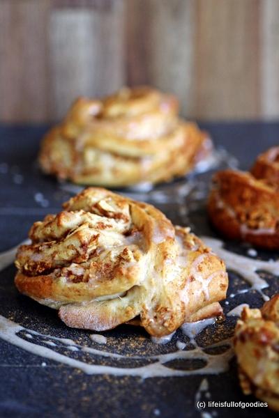 Apple Cinnamon Swirls [Ein Gastbeitrag von Life is full of goodies]