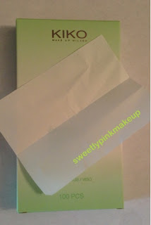 kiko blotting papers