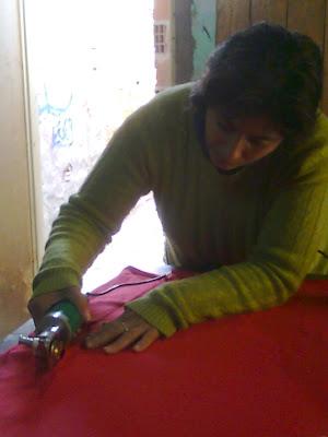 Cortadora de textiles