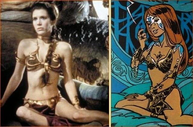 star wars inspiré de Valérian et Laureline