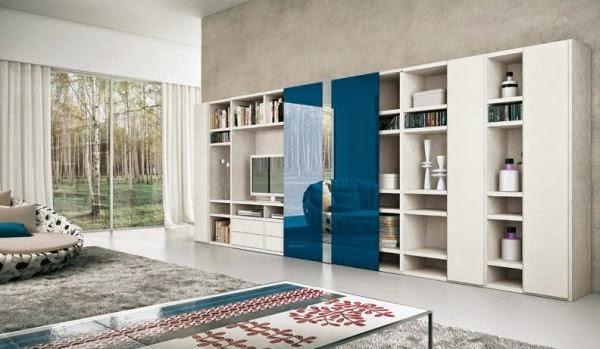 Model 1 desain ruang tamu rumah minimalis kontemporer 2015
