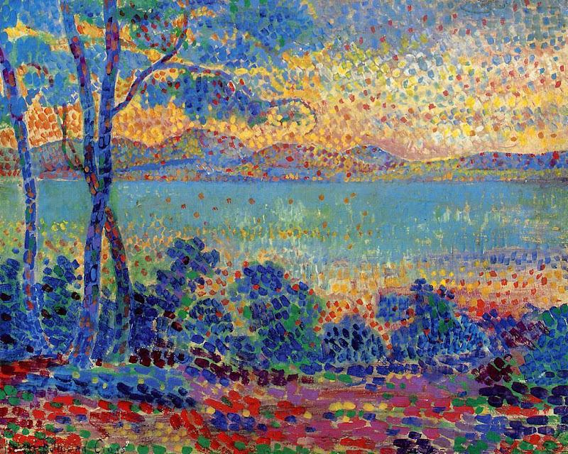 Henri-Edmond Cross - Provence Landscape
