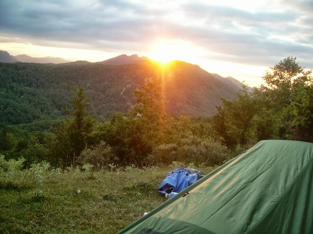 Bugarach sunset