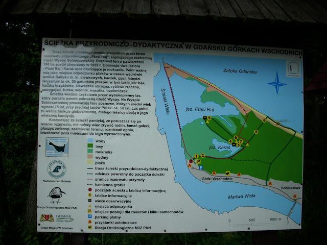 """Ścieżka przyrodniczo-dydaktyczna w Rezerwacie """"Ptasi Raj"""""""