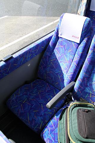伊予鉄道「ハーバーライナー」  5251 シート