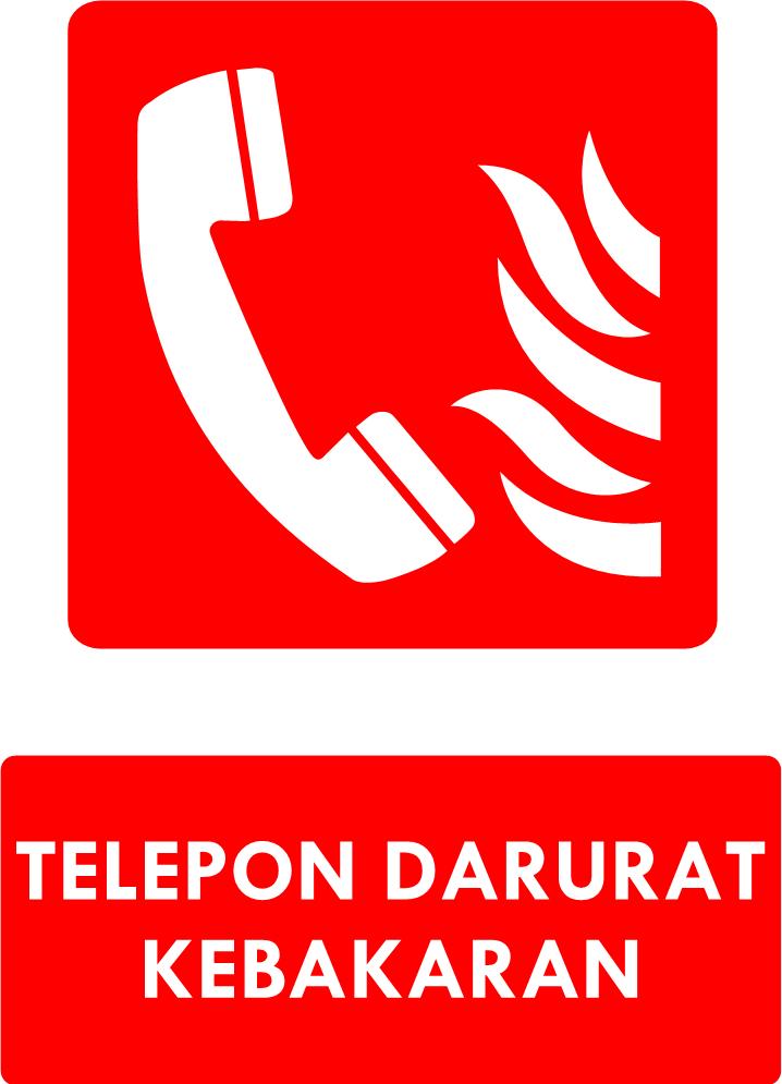 Rambu Telepon Darurat Kebakaran