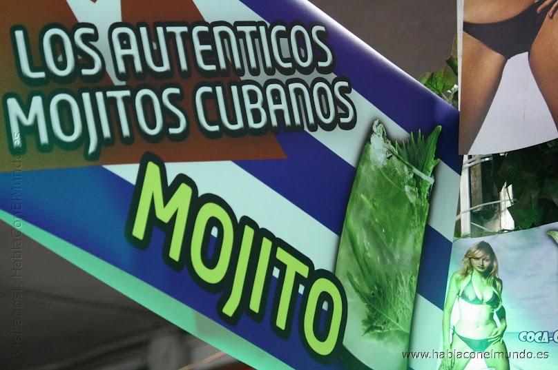 Mojito cubano en la VI Feria de las Americas en España