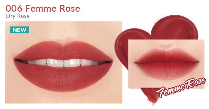 Son Bấm I'm MEME I'm Tic Toc Tint Lip Velvet Femme Rose