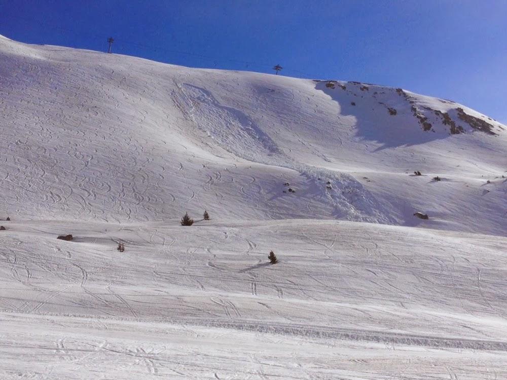 Avalanche Chaberton, secteur Crête de la Serre Thibaud - Photo 1