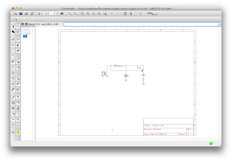 screenshot of my schematic