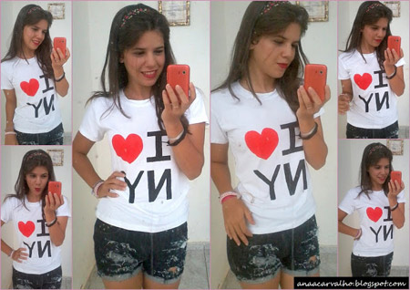 DIY - Camiseta I Love NY