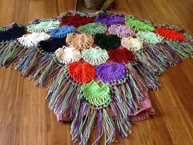 Maltese Crochet Patterns : ... Shantis art work journal: Hairpin or Maltese lace loom shawl Pattern