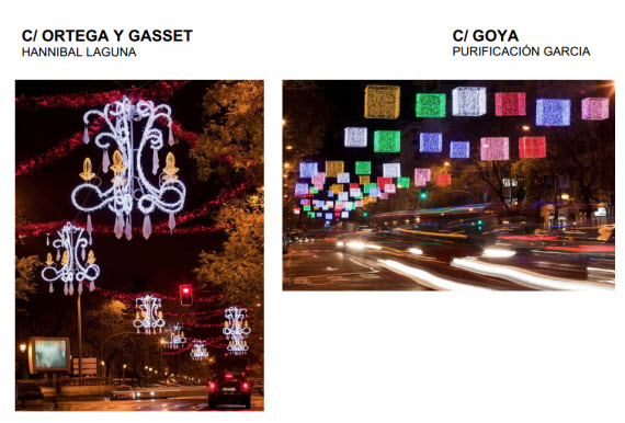 Las luces de Navidad 2013