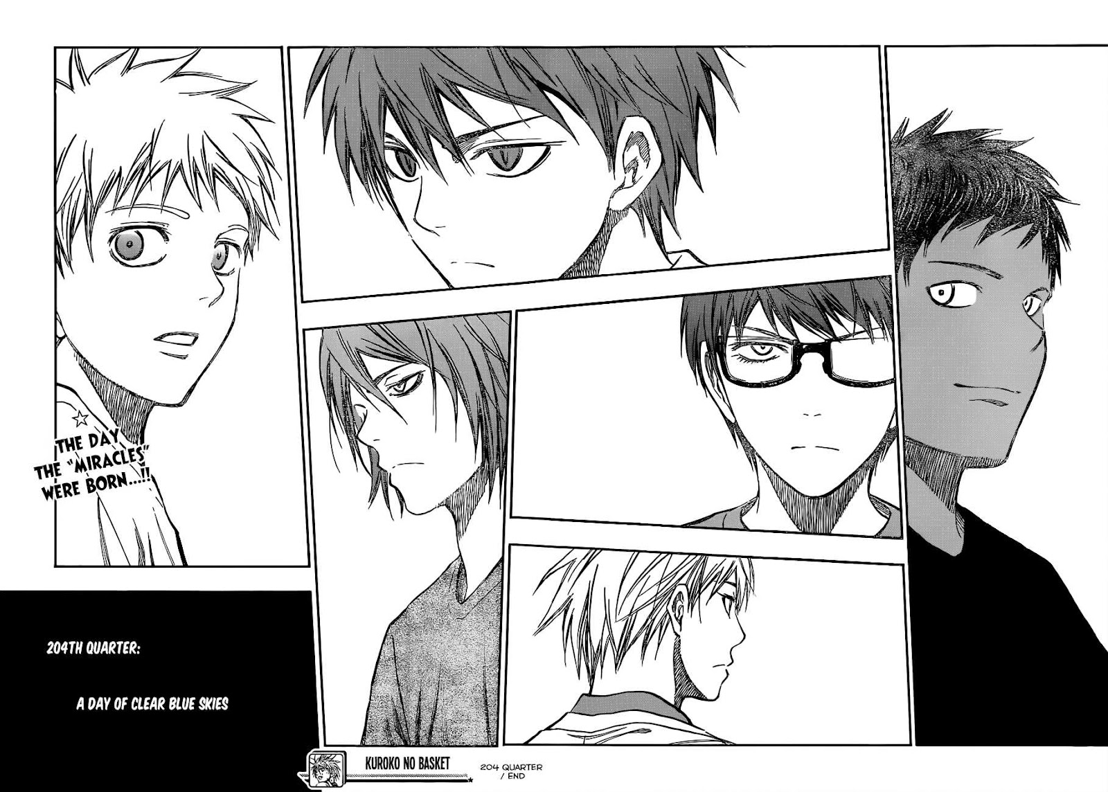 Kuroko no Basket Manga Chapter 204 - Image 18-19