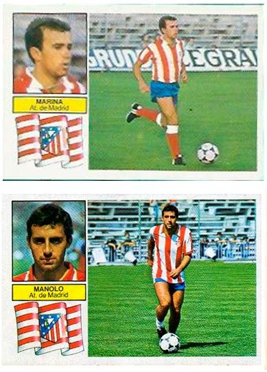At. Madrid - Ediciones ESTE 82/83 Manolo y Marina