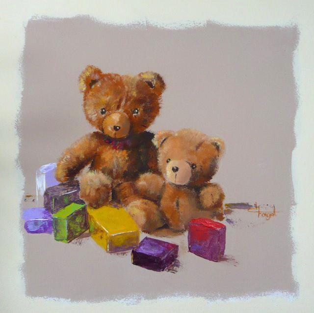 A nos pinceaux enfance d fi 11 du 17 f vrier au 15 mars 2011 - Boite de peinture acrylique ...
