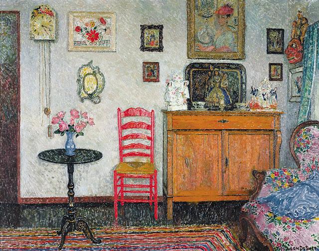 Leon De Smet – L'intérieur de la maison du peintre