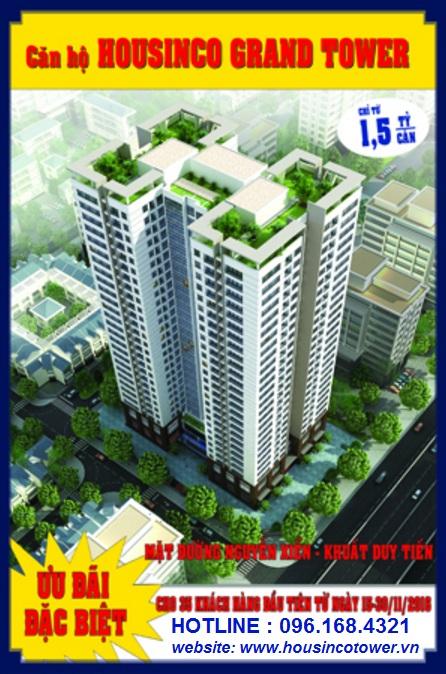 Chung Cư Housinco Grand Tower