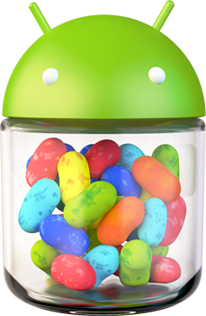 """jelly bean 4.1"""