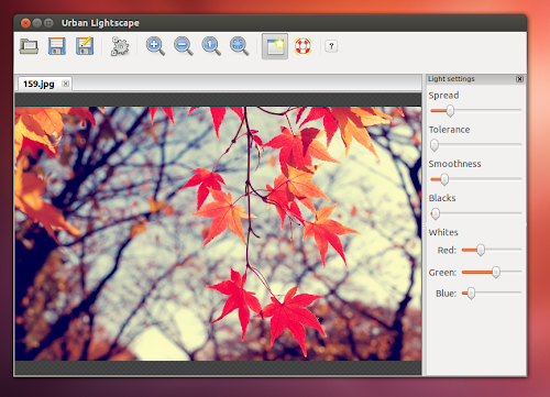 Urban Lightscape su Ubuntu 12.04