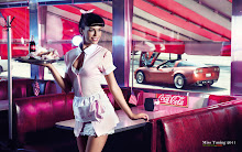 women cars models cocacola juni kristin zippel miss tuning 1920x1200 wallpaper
