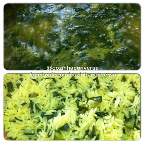 comida de mãe, Arroz com Brócolis, arroz aromatizado, brócolis, alimentação, alimentação saudável, fazendo arroz com brócolis, comida saudável,