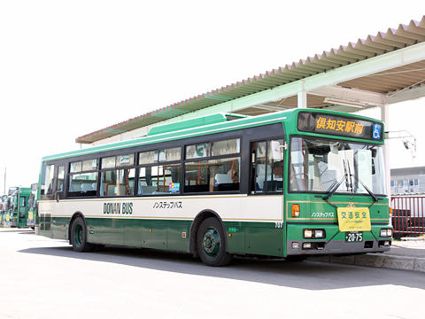 道南バス 胆振線代替バス 2075