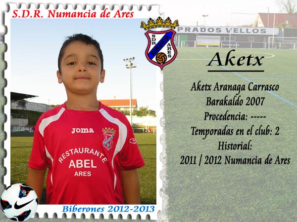 ADR Numancia de Ares. Aketx.