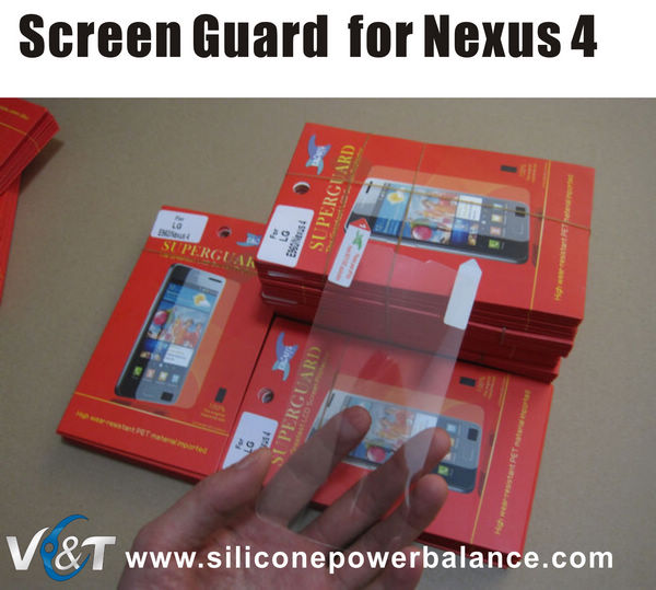 screen guard screen protector for lg e960 nexus 4