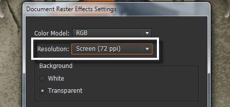 Cách giảm kích thước file thiết kế trong illustrator