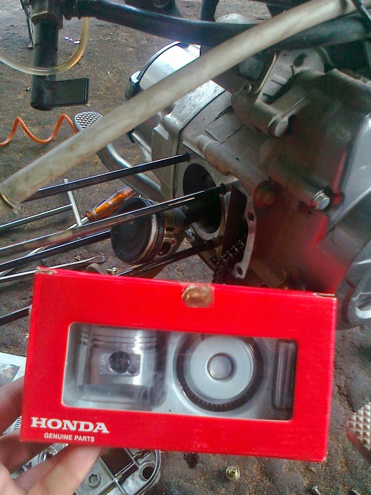 Modifikasi Korek Honda Blade Spek Road Race