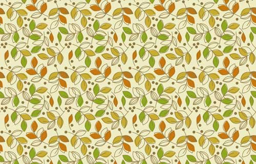 autumn background pattern leaves
