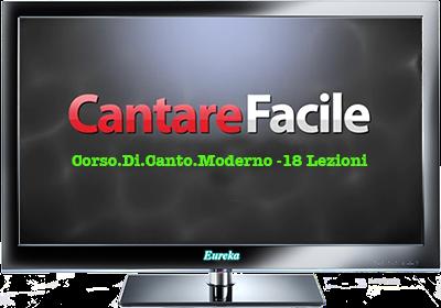 Video Corso Di Canto Moderno 18Lezioni N/D Ita