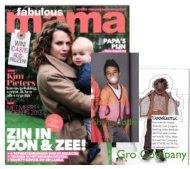 Gro Company  met vermelding PS en het vest van Shampoodle in de Mama Magazine