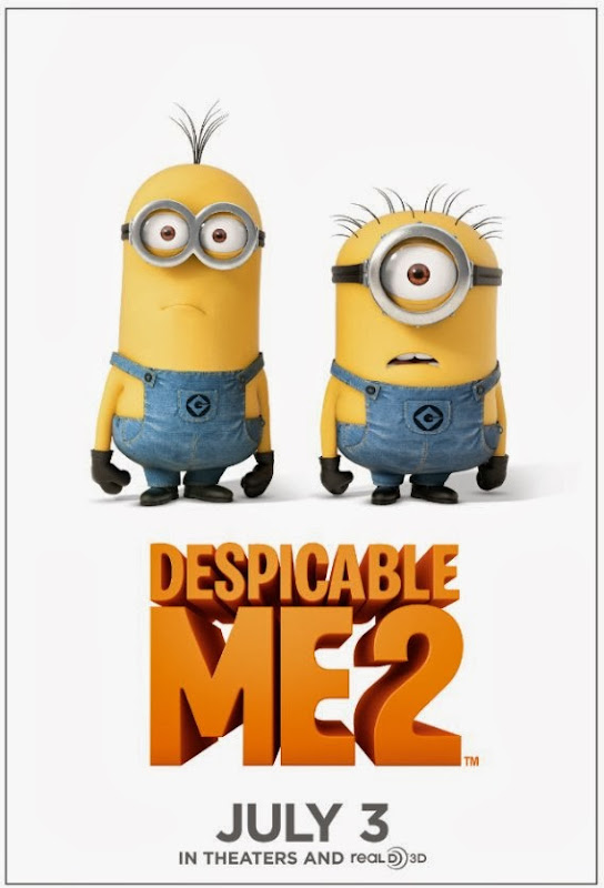 Poster Of English Movie Despicable Me 2 (2013) Free Download Full New Hollywood Movie Watch Online At alldownloads4u.com