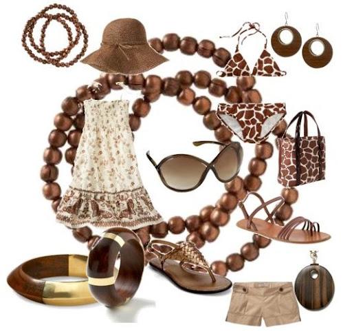 kahverengi kıyafet kombinasyonu