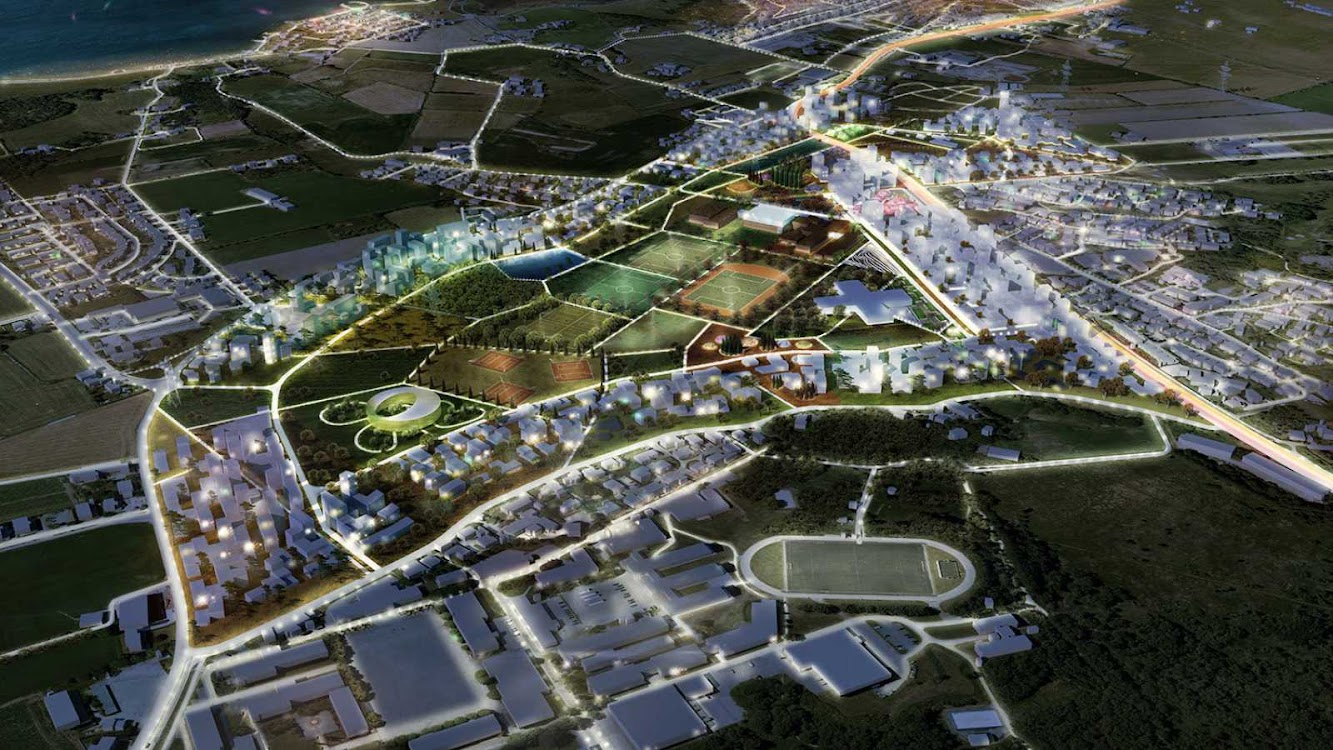 03 Urban Plan for Stavanger by Mvrdv and Space Group