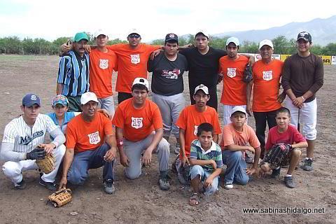 Equipo Albures V del torneo de softbol del Club Sertoma